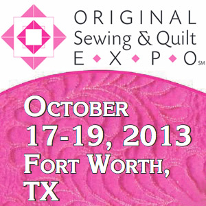 expo Visit the Original Sewing and Quilt Expo with Plano ASG!